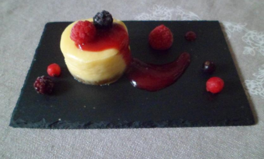 Cheesecake aux fruits rouges 1