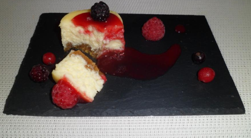 Cheesecake aux fruits rouges 3